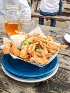 fried fish {smelts}