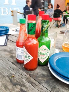 i'm too scared to try the {spicy} sauces but aren't they so pretty!