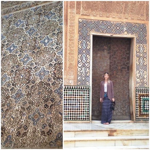the tile at the alhambra was beautiful!