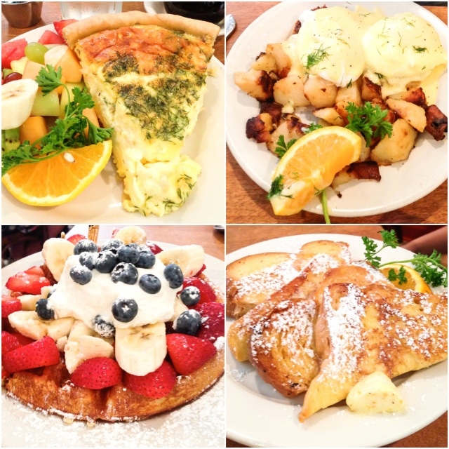 adam, kevin, + i all had our usuals. shanel got the french toast which looked super yummy!